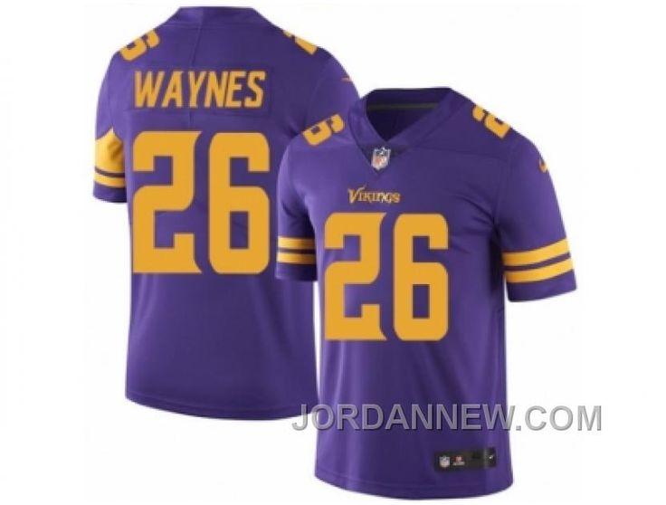 http://www.jordannew.com/mens-nike-minnesota-vikings-26-trae-waynes-elite-purple-rush-nfl-jersey-for-sale.html MEN'S NIKE MINNESOTA VIKINGS #26 TRAE WAYNES ELITE PURPLE RUSH NFL JERSEY FOR SALE Only $23.00 , Free Shipping!