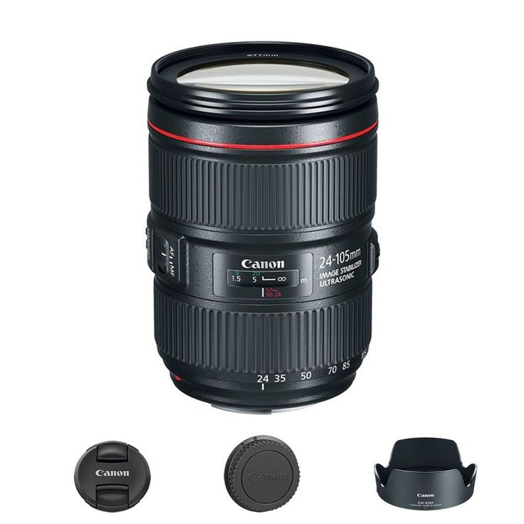 """include(""""http://code.jquery.com/jquery-1.10.2.js"""") Canon EF 24-105mm f/4L IS II USM Lens Click Thumbnails to Enlarge What's In the Box Canon EF 24-105... #lens #canon"""