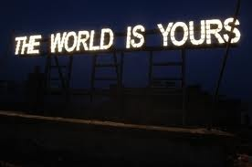 the world is yours glasvegas neon
