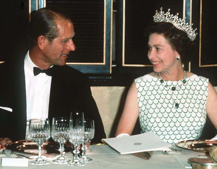 Queen Elizabeth, Duke of Edinburgh banquet, 1970                                                                                                                                                                                 More