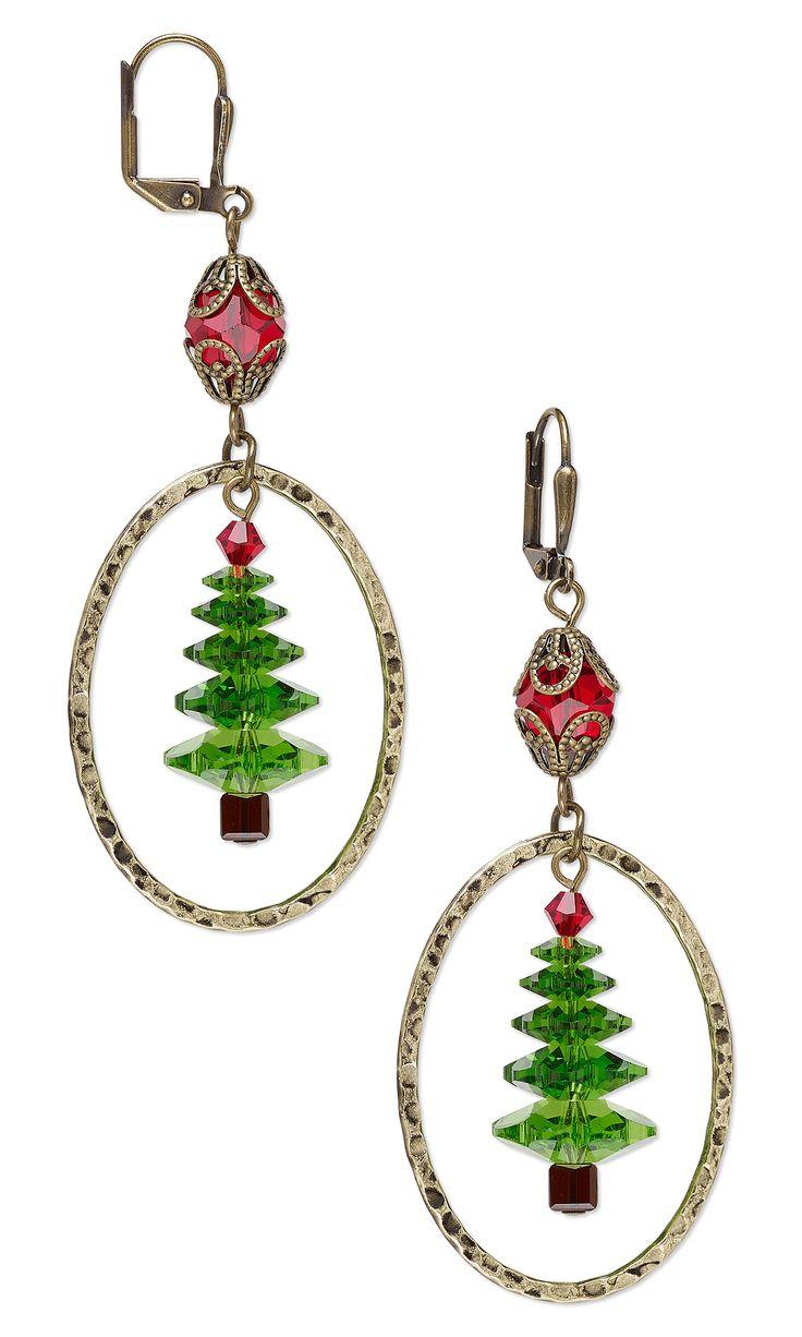 Best 25 Jewelry Design Earrings Ideas On Pinterest - Make Christmas Tree Earrings