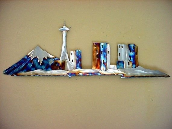 Wonderful 16 best metal skyline wall decor images on Pinterest | Wall decals  LB91