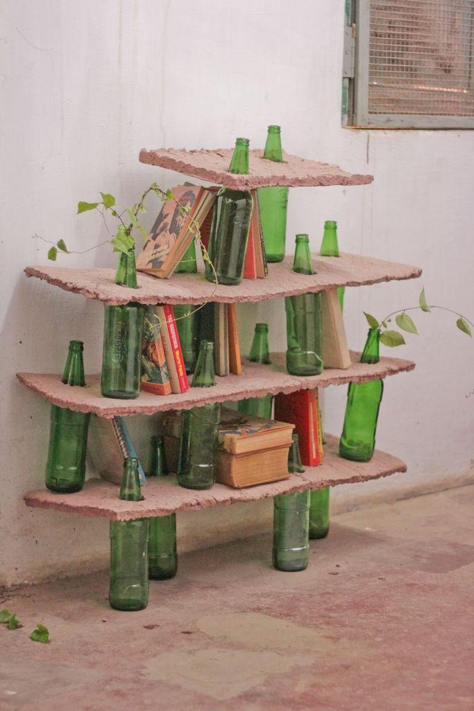 bottle shelves diy 2