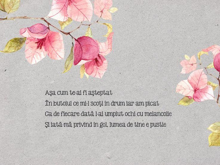 14th poem - Melancolie