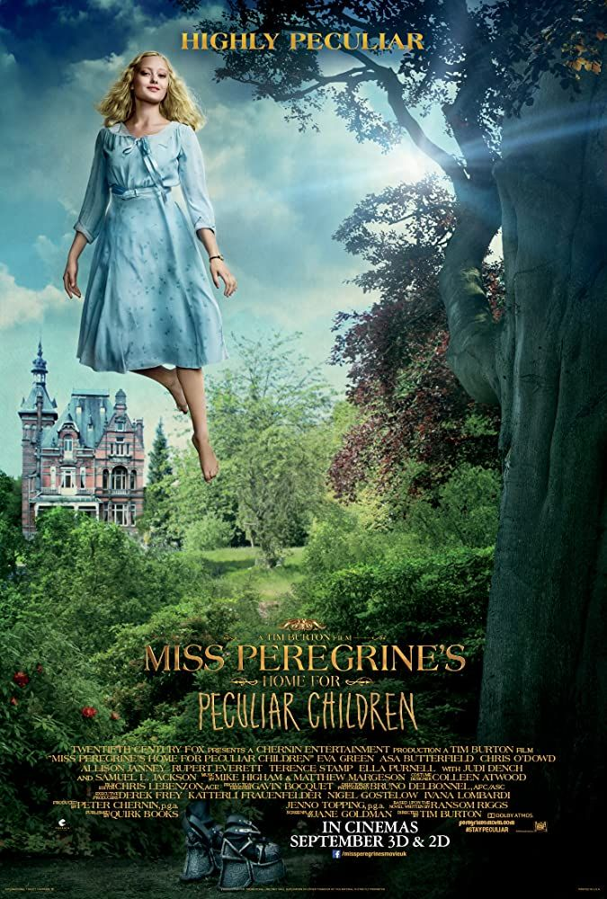 Miss Peregrine S Home For Peculiar Children 2016 In 2020 Miss Peregrines Home For Peculiar Peculiar Children Movie Peculiar Children