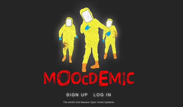 """""""Moocdemic"""" is an online game in which users fight a virtual pandemic using their mobile devices. The game is running in tandem with Penn State's MOOC """"Epidemics: the Dynamics of Infectious Diseases.""""  Image: Penn State"""