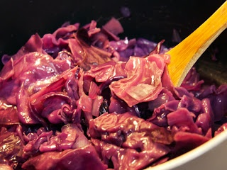 Authentic Oktoberfest Recipe - blaukraut. Purple Sauerkraut