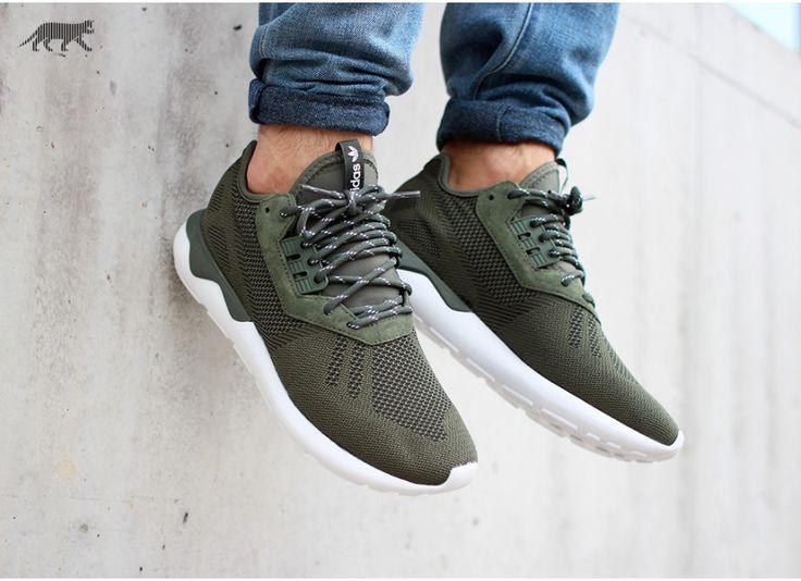 Adidas Tubular Green Weave
