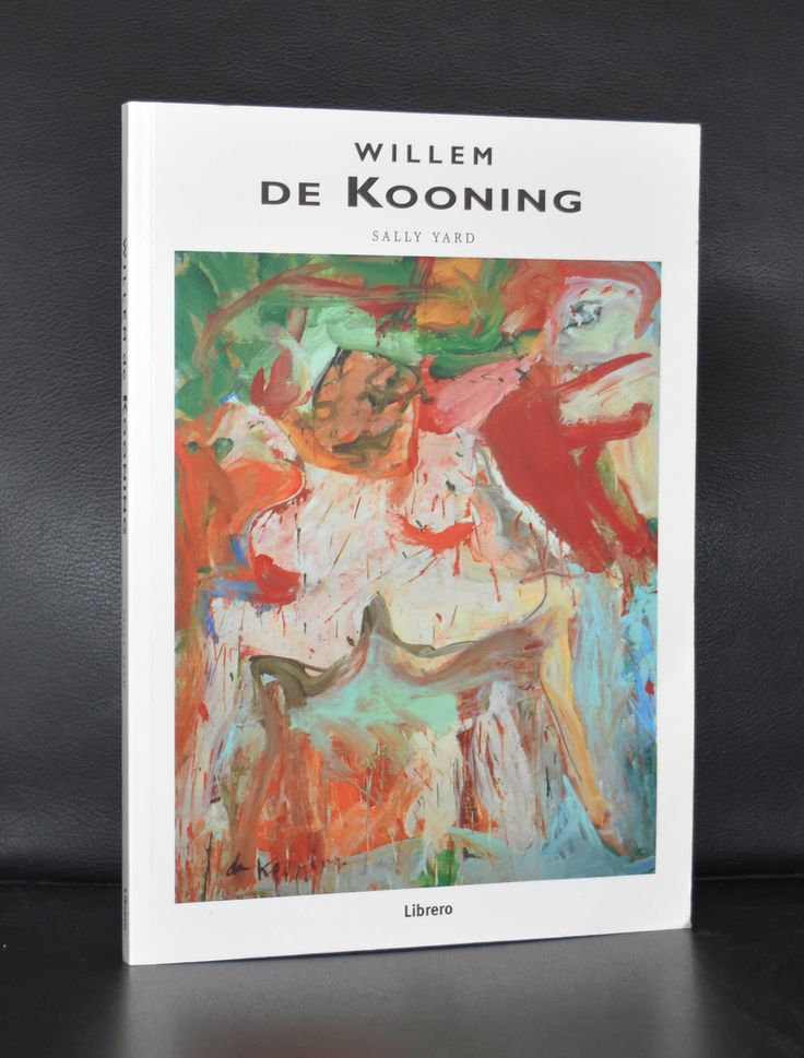 Librero # WILLEM DE KOONING # 1997, nm++