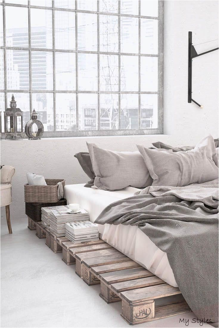 Schlafzimmer Industrial Design