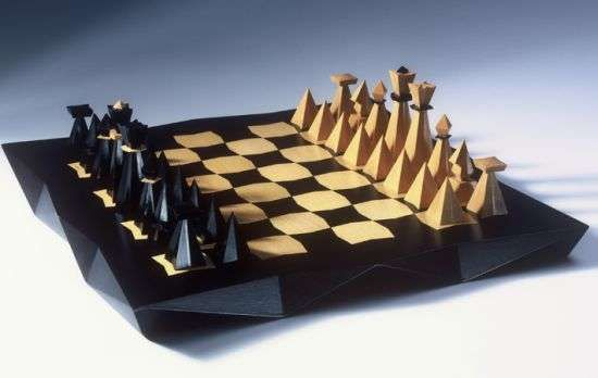 Cubist Chess Sets - Jaroslva Jurica Designs the Game After Pavel Janak´s Architecture (GALLERY)