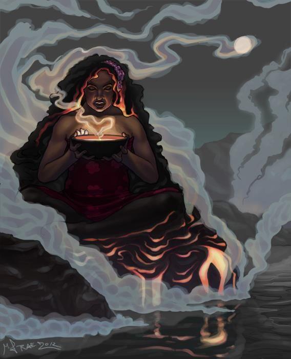 Pele ~ Goddess of Volcanoes