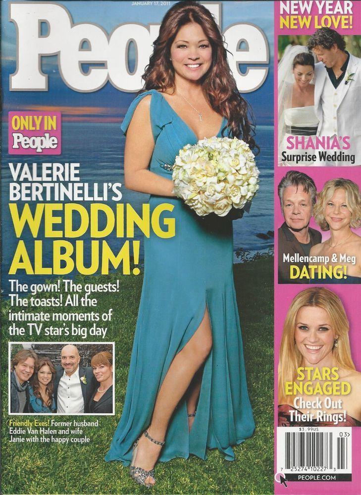 People Magazine Valerie Bertinelli Shania Twain Wedding Meg Ryan John Mellencamp
