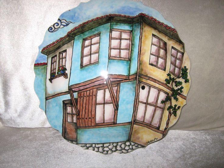 30cm çini pano Tile art, handmade
