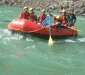 Click for planning river rafting trip with friends or family.