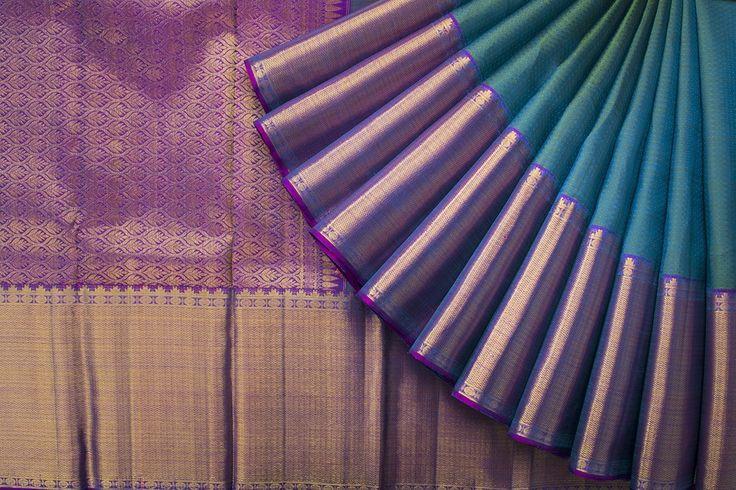 Tharakaram Handwoven Kanjivaram Silk Sari 1022423 - Sari / Kanjivarams - Parisera