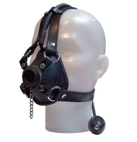 Awesome Leather and Rubber Anaesthetic Head Mask. AVAILABLE INSTORE ONLY. Check out our other hoods online. Call Alex or Poney on 0450 515 956 for sales, orders and appointments. We don't sell gasmasks or rebreather sets online due to paypal restrictions, however these items are all available instore Brisbane.