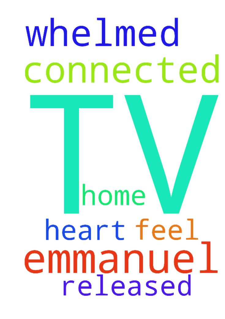 I'm over whelmed when I'm connected to Emmanuel TV - Im over whelmed when Im connected to Emmanuel TV in my home and feel released in my heart. Posted at: https://prayerrequest.com/t/HKp #pray #prayer #request #prayerrequest
