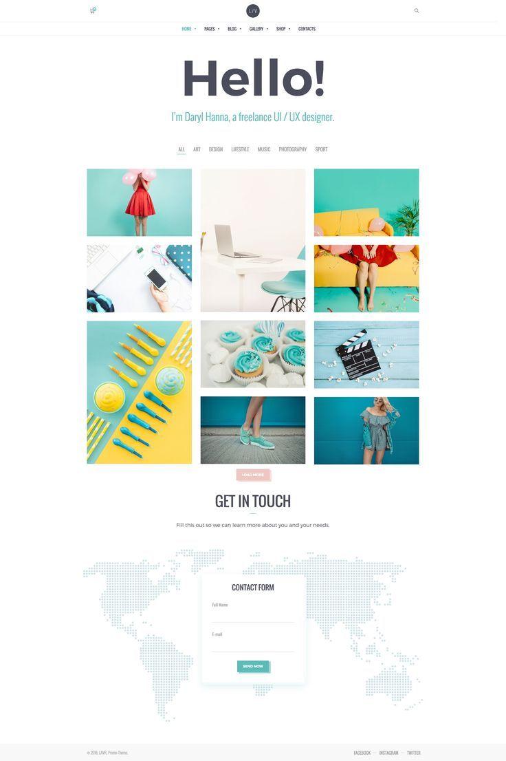 Lavr Creative Portfolio Portafolio Web Diseno Web