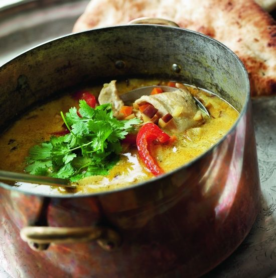 Indisk kyllingesuppe a la Sif