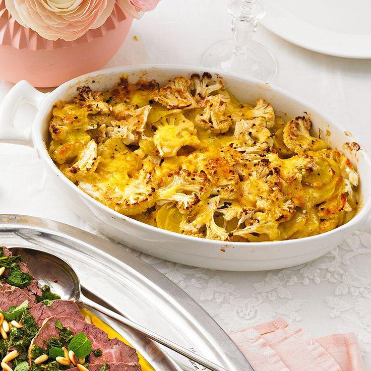Blumenkohl-Kartoffel-Gratin | BRIGITTE.de