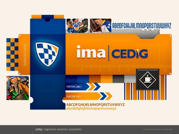 CEDIG by RiveraCarlos Disegno, via Behance