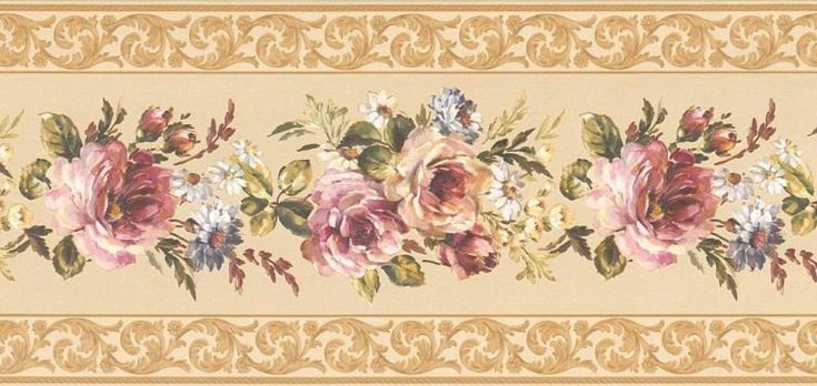 Decoupage. Vintage borders.