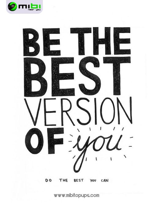 Be the best version of you! In Mibi, we want you to smile, we want to motivate you to get everything that you want and doing your life more easy Know us! www.mibitopups.com Mibi, Near you!