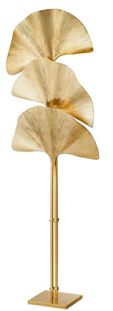 Eichholtz - Las Palmas Floor Lamp - In Polished Brass