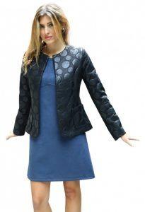 dermatino gunaikeio sakaki Women's clothing economically in large sizes