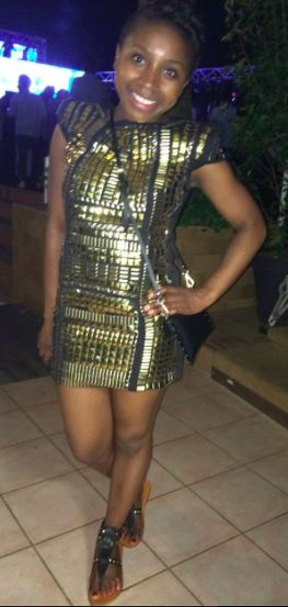 Selae from Johannesburg. Her look: confident, social, beautiful.