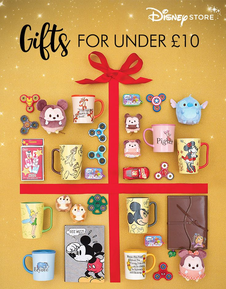Magical stocking fillers for under £10 at Disney Store. Find the perfect gift online or in store. Check out our Christmas Gift Guide now.
