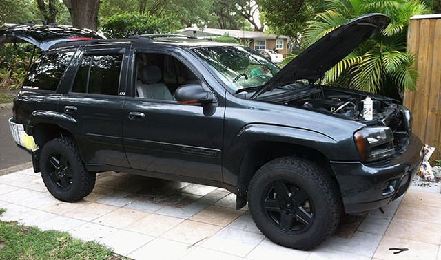 2003 Chevy Trailblazer LTZ                              …