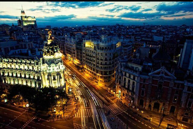 #madrid desde el cielo