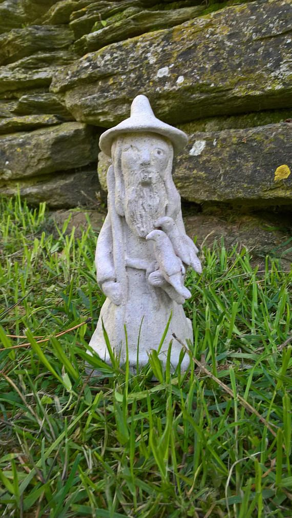 Odin Altar Statue / Norse God Odin Statue / Odin the Allfather Statue / Ceramic Odin Sculpture / Handmade Odin Statue