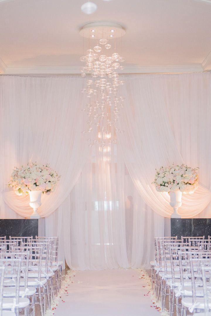 Elegant wedding ceremony idea; photo: Blush Wedding Photography