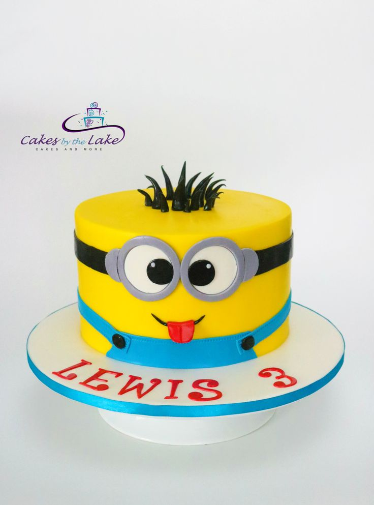How Do U Make A Minion Cake