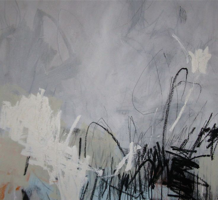 untitled gray • 34w x 38h • mixed media on canvas • 2011