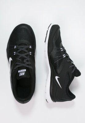 Nike Performance FLEX TRAINER 5 - Chaussures d'entraînement et de fitness - black/white/anthracite - ZALANDO.FR
