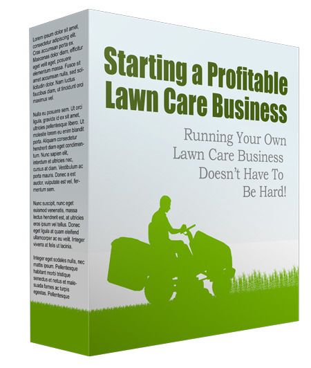 Start #LawnCare #Business #Report with #PrivateLabelRights Learn How to Start a Profitable #Lawn Care Business! There is a question that you should ask yourself very early when your thinking about starting your own #lawncarebusiness. It may seem like a silly question but it isn't.
