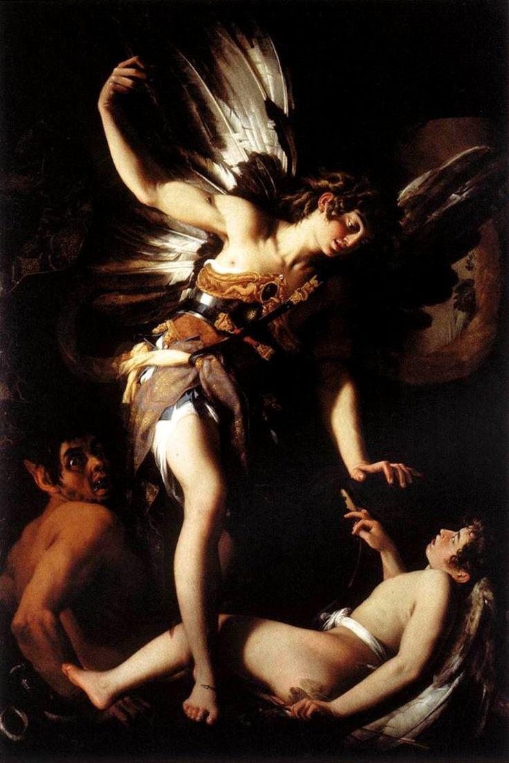 Sacred and Profane Love,, by Giovanni Baglione, circa 1602-1603