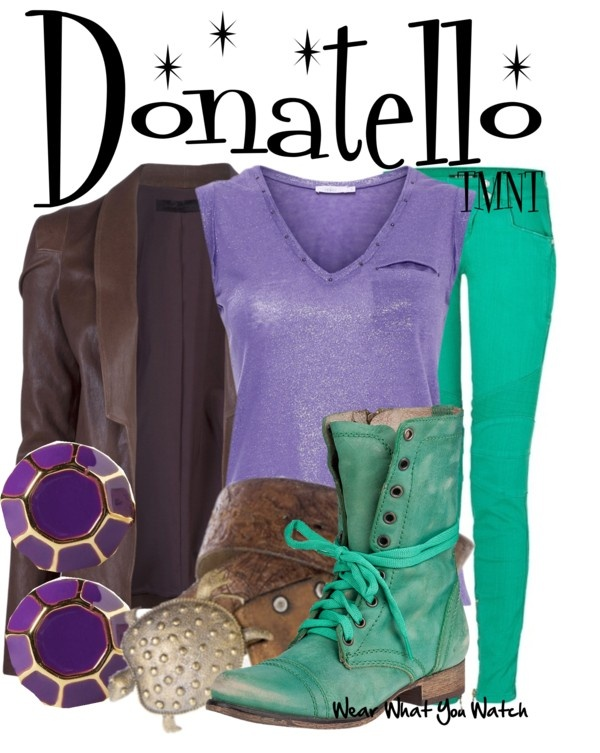 Inspired by Ninja Turtle Donatello from the Teenage Mutant Ninja Turtles