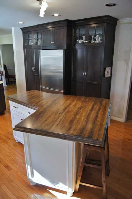 Light Colored Concrete Countertops Best 25 Stained Concrete Countertops  Ideas On Pinterest Stained