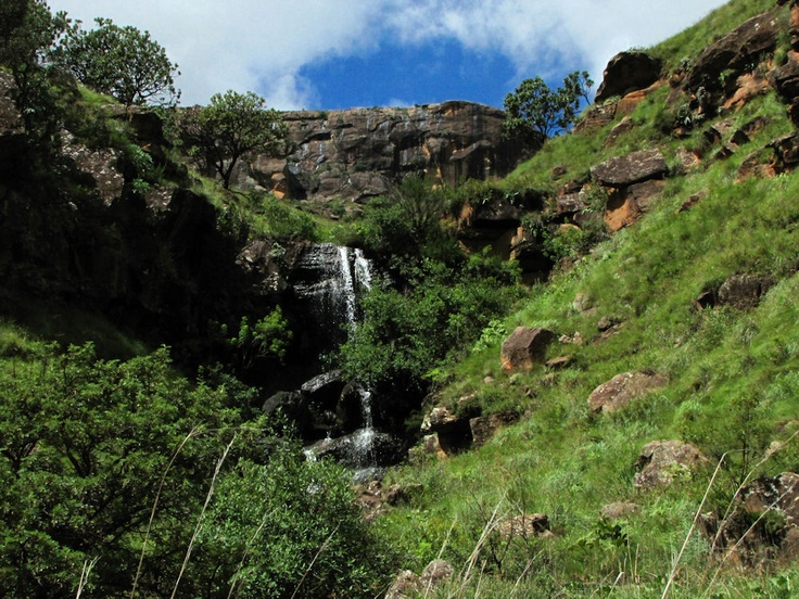 #waterfall at #sanipass #lesotho | #southafrica