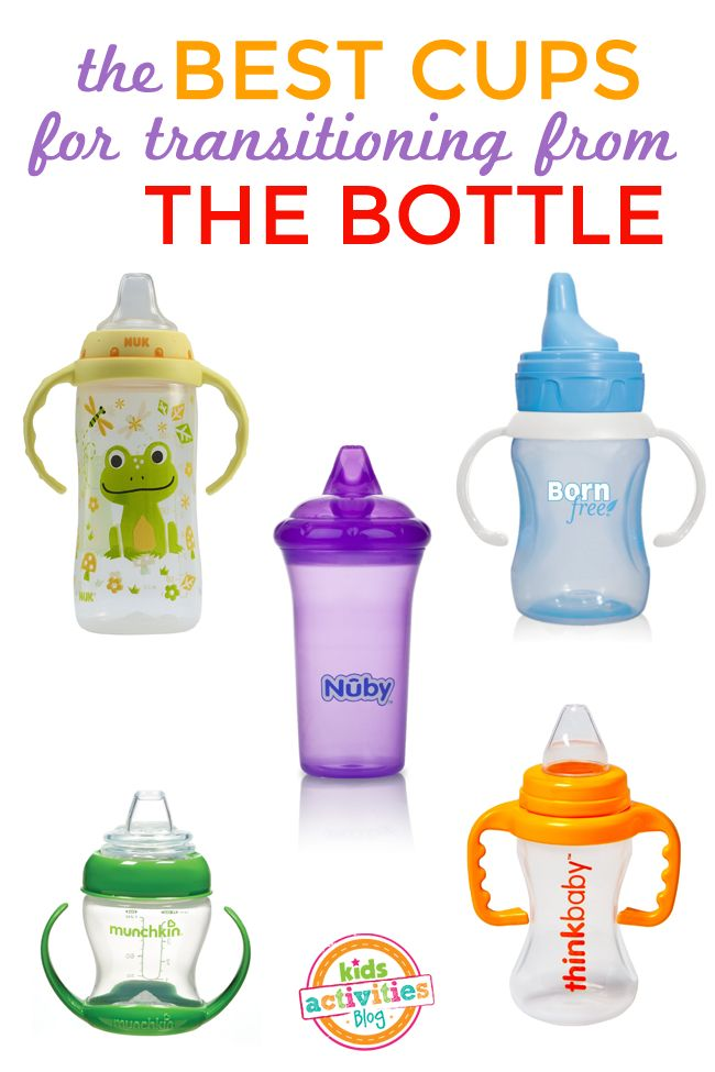 The best cups to use when you're weaning baby from the bottle.