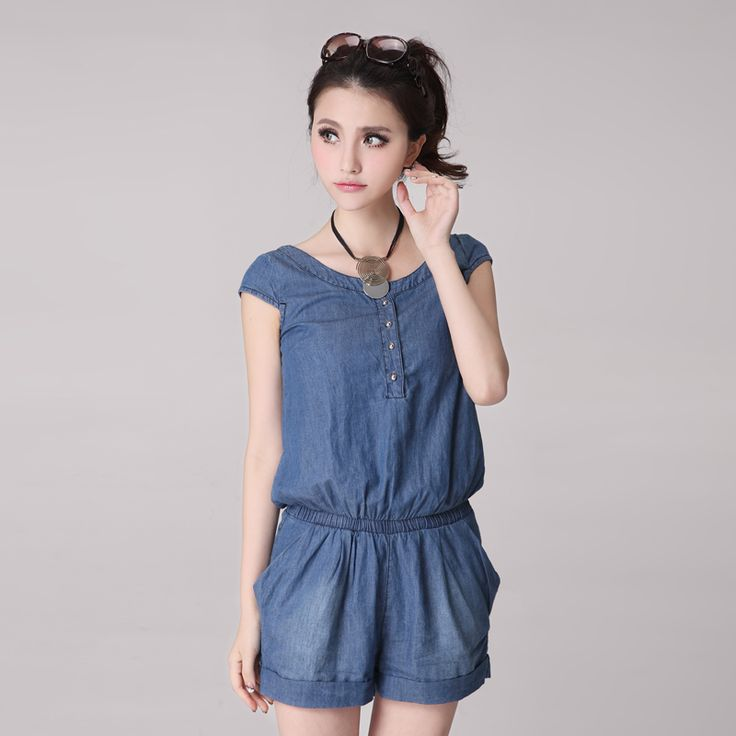 6166 Summer Mid Waist Fashion Thin Denim Jumpsuit Bodysuit With Belt - http://www.freshinstyle.com/products/6166-summer-mid-waist-fashion-thin-denim-jumpsuit-bodysuit-with-belt/