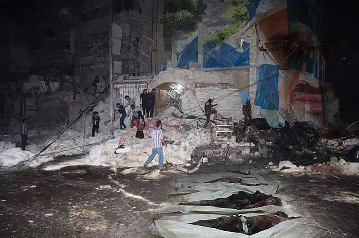 Al Kuds children hospital  Assad destroyed it and killed the doctors   #حلب_تحترق #AleppoIsBurning #AssadKillsSyrianChildren #RussiaKillsSyrianChildren #ObamaKillsSyrianChildren