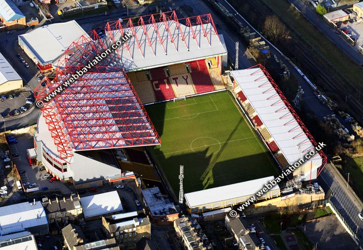 bradford city AFC stadium aerial photo-ba01633.jpg