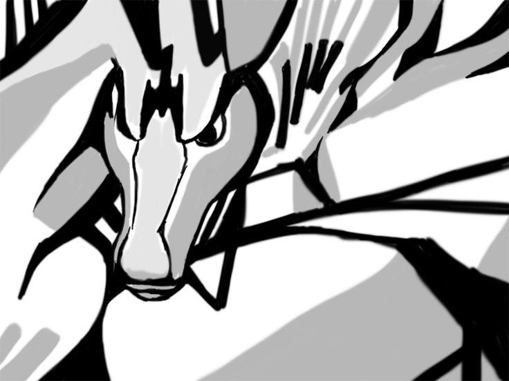 dragon_abstract