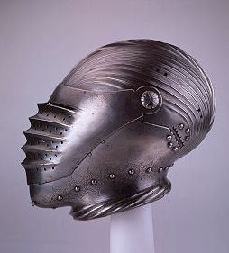 Believed to be part of an armour presented to Henry VIII by the Holy Roman Emperor, Maximilian I. Attributed to Konrad Seusenhofer